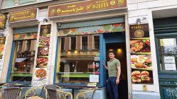 Omar Fattah vor dem Sesam II.