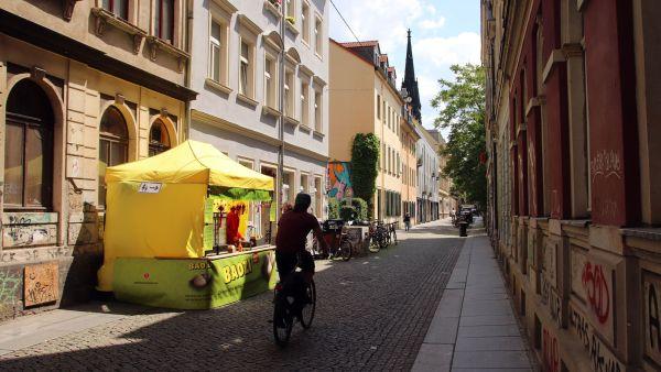 Ab sofort gibt's Baozi auf der Böhmischen Straße