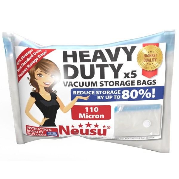 Neusu Heavy Duty XL Vacuum Bags Pack
