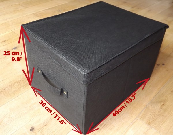 Medium Box Dimensions