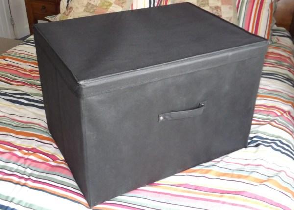 Super Jumbo Box on Bed