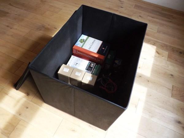 super jumbo box open