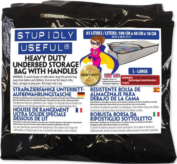 85L underbed bag packaging