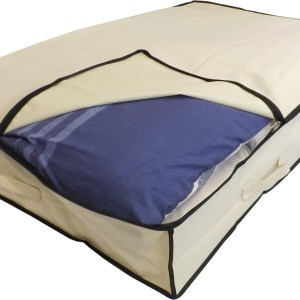 XL slimline underbed partially open