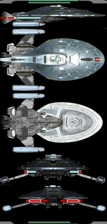 Federation Starfleet Class Database - Yeager Type
