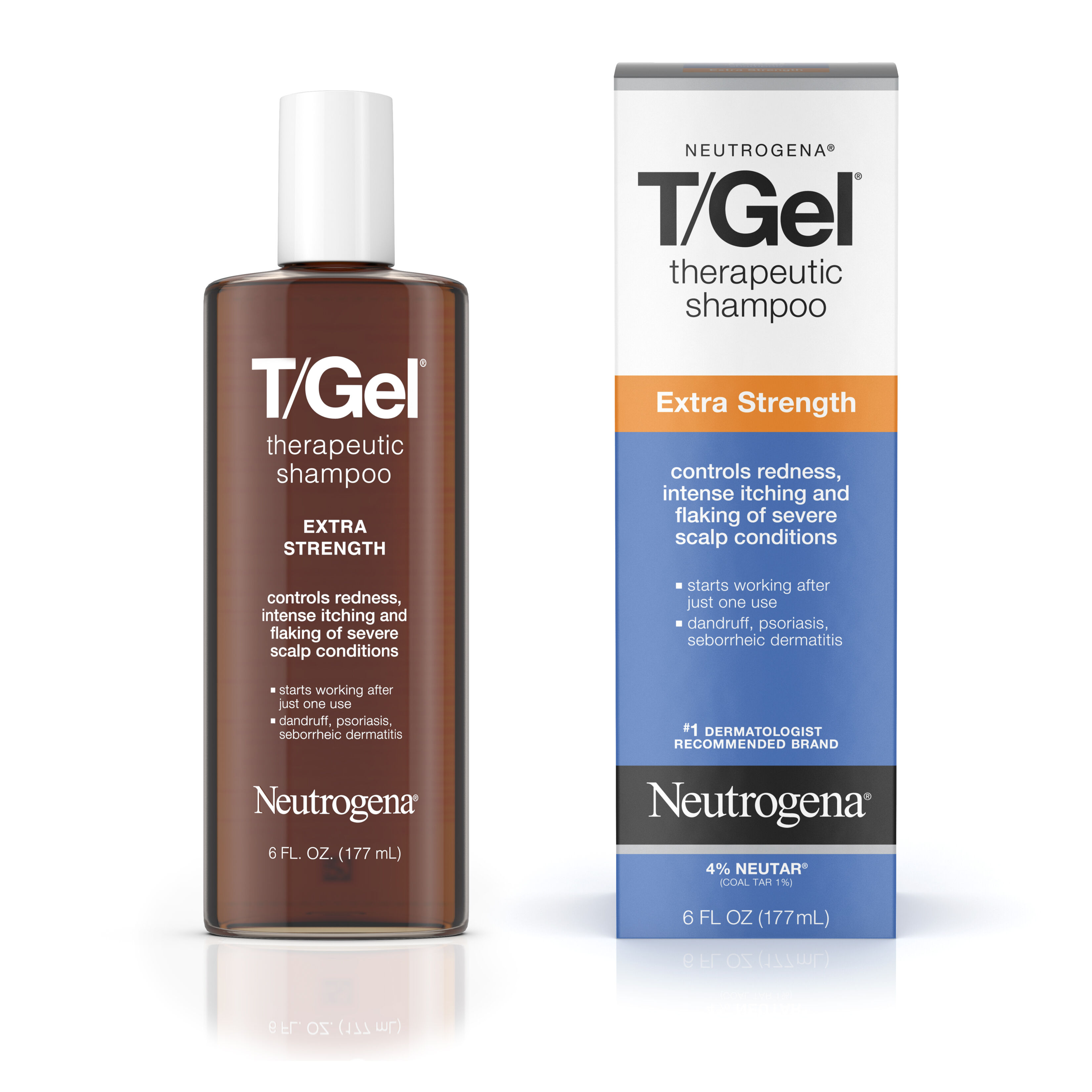 T/Gel® Therapeutic Shampoo Extra Strength   Neutrogena®