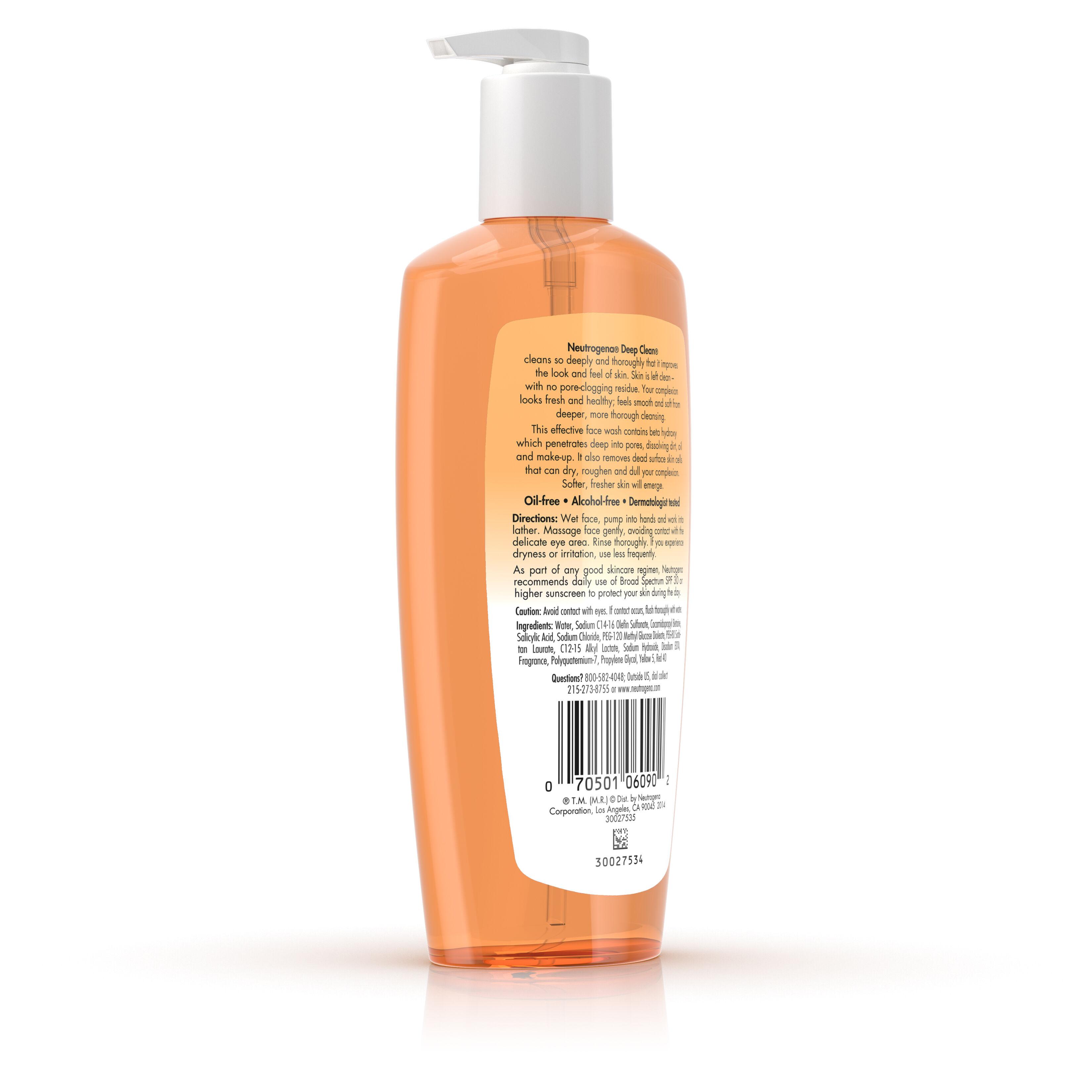 Deep Clean® Facial Cleanser   Neutrogena®