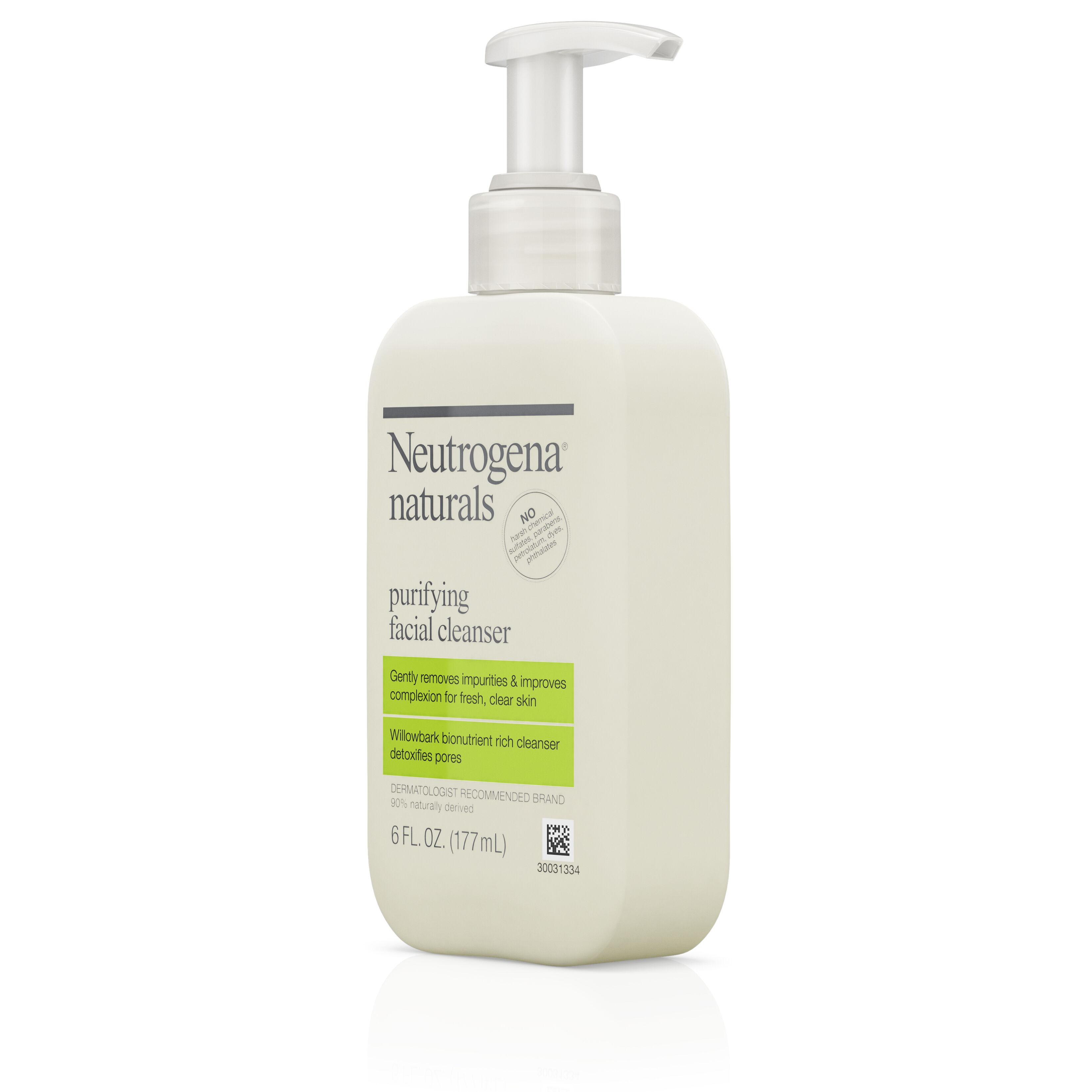 Naturals Purifying Facial Cleanser   Neutrogena®