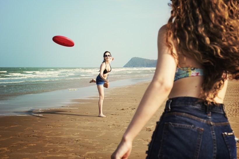 Desporto na praia