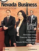 Nevada Business Magazine September 2010 Issue