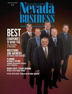 Nevada Business Magazine November 2005 View Issue
