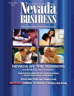 Nevada Business Magazine January 2006 View Issue