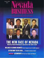 Nevada Business Magazine January 2004 View Issue