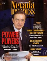 Nevada Business Magazine July 2001 View Issue