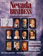 Nevada Business Magazine May 2002 View Issue