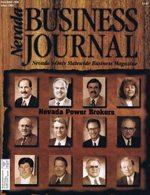 Nevada Business Magazine November 1996 View Issue