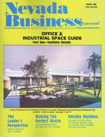 Nevada Business Magazine August 1986 View Issue