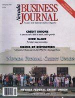 Nevada Business Magazine February 1992 View Issue