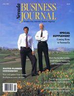 Nevada Business Magazine June 1992 View Issue