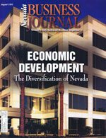 Nevada Business Magazine August 1995 Issue