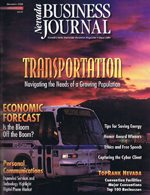 Nevada Business Magazine December 1998 View Issue