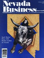 Nevada Business Magazine February 1990 View Issue