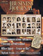 Nevada Business Magazine February 1998 View Issue