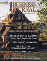 Nevada Business Magazine July 1998 View Issue