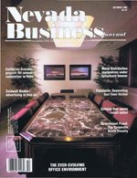 Nevada Business Magazine October 1988 View Issue