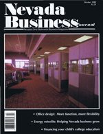 Nevada Business Magazine October 1989 View Issue