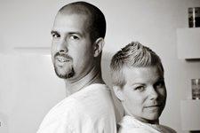 Brian and Kari Haskell Retro Bakery