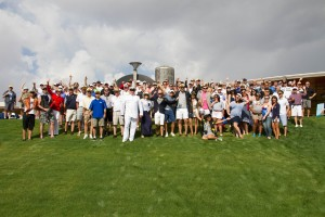 Colliers International, announced that the company's 21st Annual Links for Life Charity Golf Tournament raised more than $75,000.