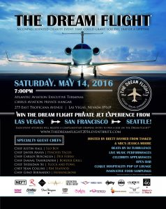 """""""The Dream Flight,"""" a fundraiser created by local influencers launches May 14, offering a chance for lucky winners to win a foodie flight on a private jet."""
