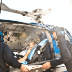 Care Flight is expanding its emergency medical helicopter service by the opening of its base in Beckworth, California.