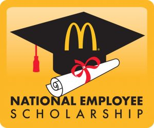 Nevada State College student Jaclyn Southam, a McDonald's restaurant employee was recently awarded a $2,500 McDonald's National Employee Scholarship Award