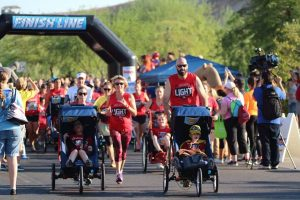 Superheroes are uniting to support the local nonprofit Candlelighters Childhood Cancer Foundation of Nevada for one of its largest fundraisers.
