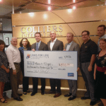 Colliers International's Links for Life donated to assist in the travel of local southern Nevada families to travel nationwide for specialized medical care.