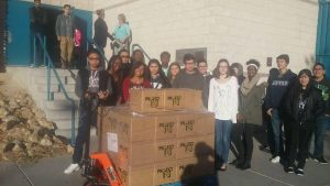 Project 150 is working to provide at least 1,500 local high school students and their families a Thanksgiving meal and neccessities for throughout the year