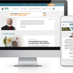 Noble Studios recently launched a new, redesigned version of the popular health and wellness website, http://www.drweil.com.