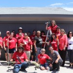"""Armed with paint, tools and new household items, Keller Williams Realty Las Vegas agents and business partners painted, repaired, and did """"extreme makeovers"""" on aging housing for homeless youth who are part of Nevada Partnership for Homeless Youth's (NPHY) Independent Living Program"""