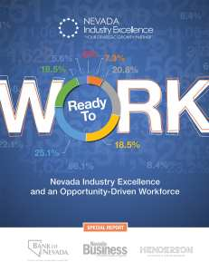 The mission of Nevada Industry Excellence is to help companies improve, grow and learn by implementing customized training programs.