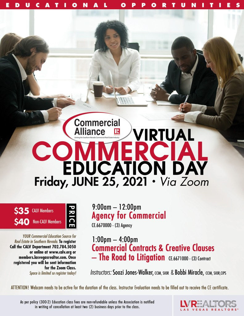 CALV hosts its next Commercial Education Day on June 25