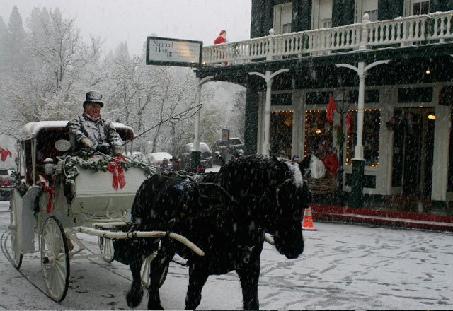 Nevada City Victorian Christmas 2017 Nevada City California