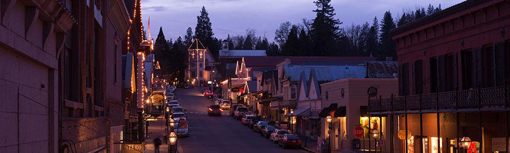 Home Nevada City California