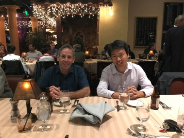 COBRE dinner Mike and Yong Oct 2017