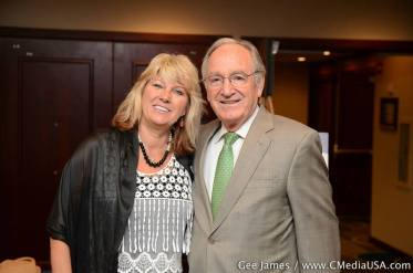 NGCDD ED Sherry Manning with Senator Tom Harkin discussing the UN Convention on the Rights of Persons with Disabilities