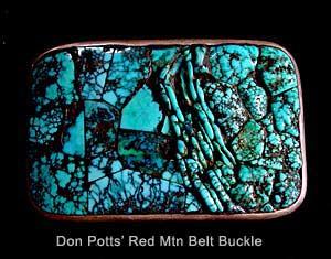 Don Pott's Red Mtn Belt Buckle