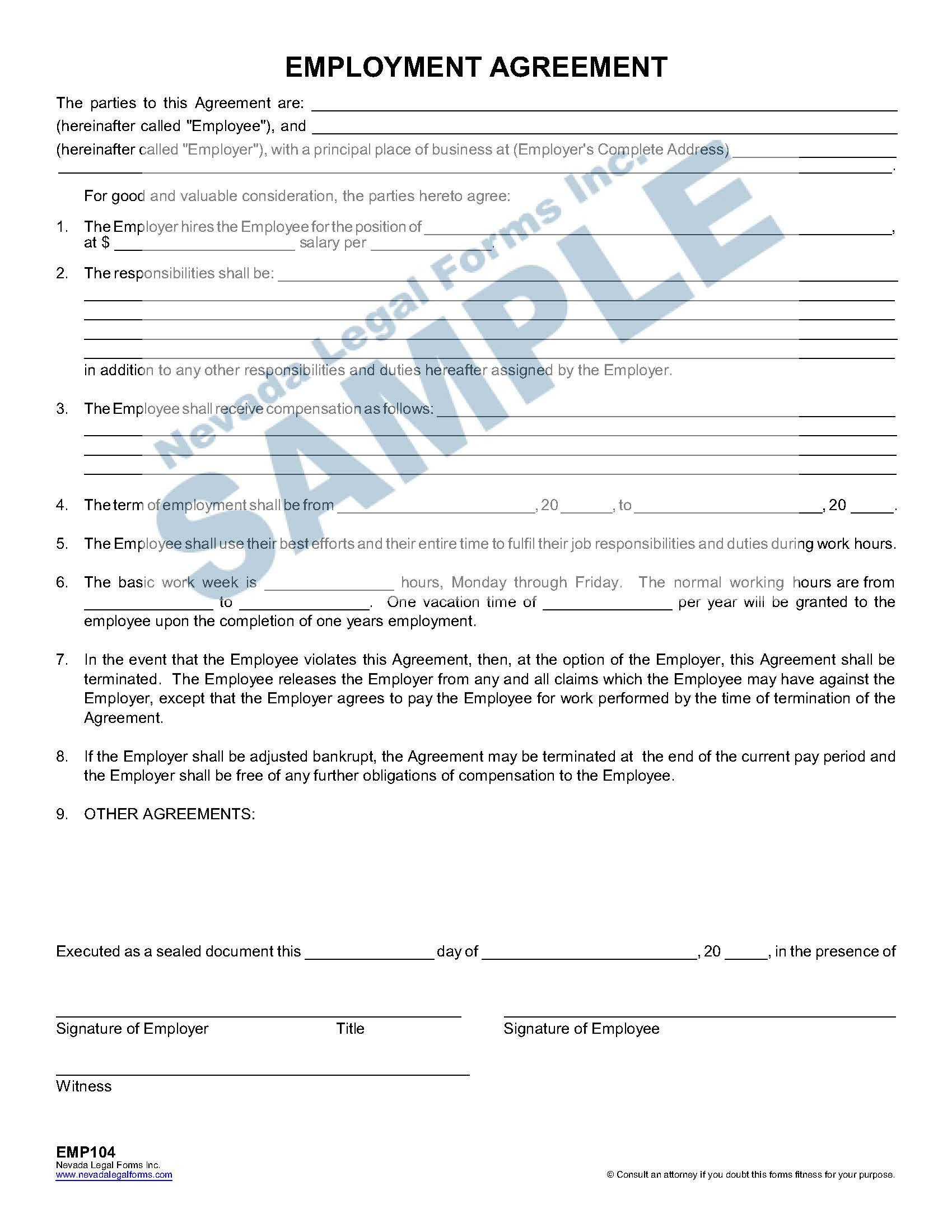 Employee Non Compete Agreement Specific Radius