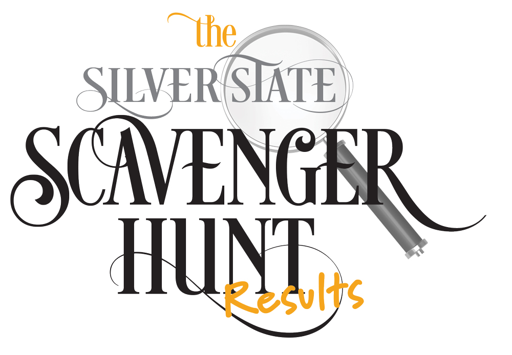 The Silver State Scavenger Hunt Results