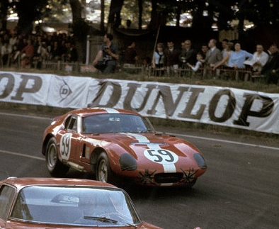 THE RED COUPE: 1965 Le Mans Cobra Coupe #59